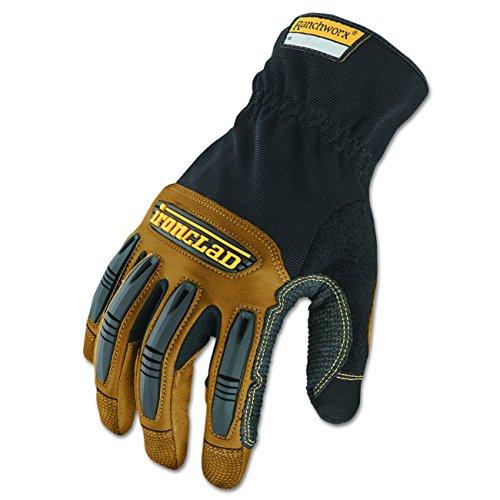 Ironclad Ranchworx Work Gloves RWG2-05-XL, Extra Large