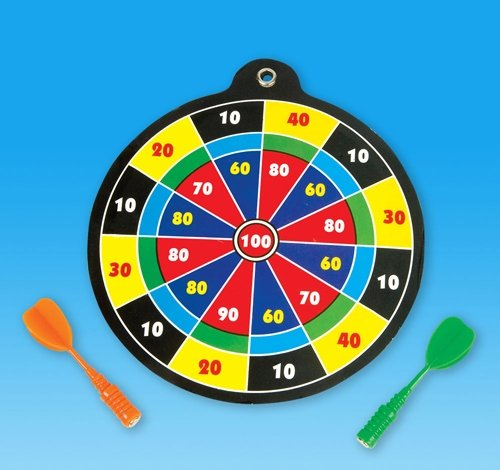 5'' DART BOARD GAME, Case of 144
