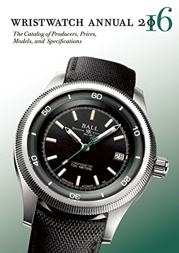 Wristwatch Annual 2016: The Catalog of Producers, Prices, Models, and Specifications [Peter Braun] (Tapa Blanda)