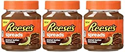 Reese\'s, Spreads, Peanut Butter Chocolate, 13oz Jar (Pack of 3)