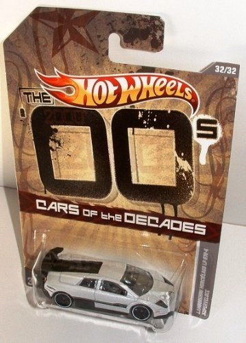 Lamborghini Hot Wheels Cars of the Decades 2000's Murcielago LP 670-4 Superveloce ()