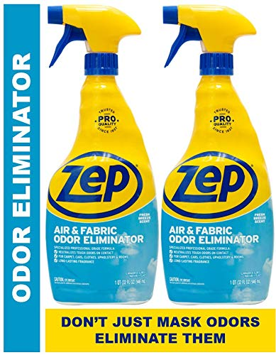 Zep Air and Fabric Odor Eliminator 32 Ounces ZUAIR (Pack of 2)