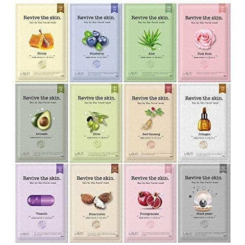 (LABUTE Revive The Skin Mask Sheet (12 kinds mask sheet (12EA)))