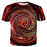 Red Swirl Hoodies Spill Sweatshirt Psychedelic Swirl of Vibrant Colorful 3D Print Womens Mens Hoodie Jacket 02 S