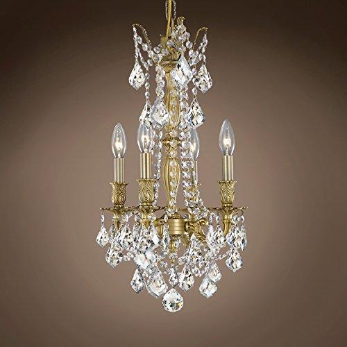 Joshua Marshal 701594-027 - Traditional Versailles 4 Light 10