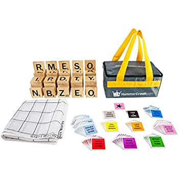 Hammer Crown Giant Wooden Words Game