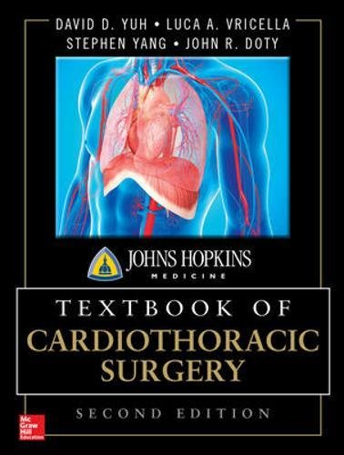 Pdf Medical Books Johns Hopkins Textbook of Cardiothoracic Surgery, Second Edition