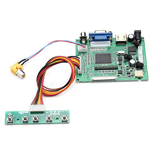 Universal LCD Display Driver Board PS2PS3xbox360 HDMI AV VGA by BephaMart