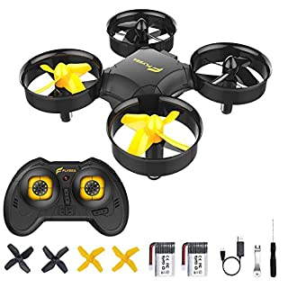 FLYSEA Portable Drones for Kids,Mini Drone Toys for Boys or Girls,Remote Control Drone for Children,with Auto Pair/Headless Mode/Altitude Hold/3D Flips/360°Rotation