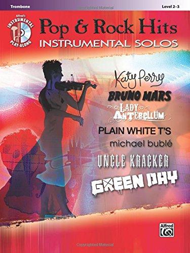 Pop & Rock Hits Instrumental Solos: Trombone, Book & CD (Pop Instrumental Solo Series)