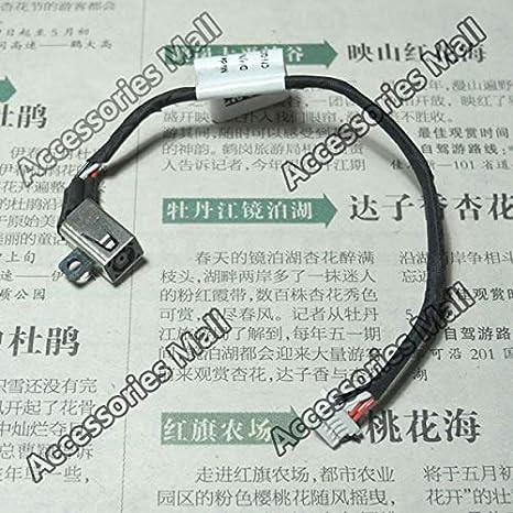Cable Length: 1 PCS Computer Cables 1-10 PCS Yoton Laptop DC Power Jack Connector for Dell Inspiron 11 3000 3147 11-3000 11-3147 P20T DC Jack 0JCDW3