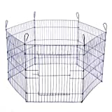 Favorite 8 Panel Dog Playpen Exercise Playpen Pet Kennel, E-Coat Iron Indoor Outdoor Cage For Sale