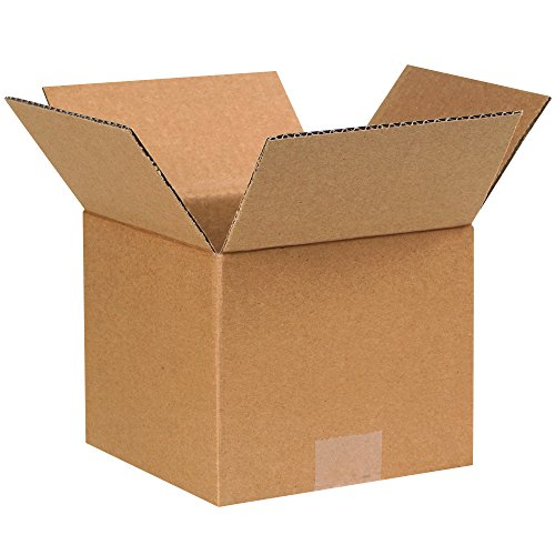 """Partners Brand P776 Corrugated Boxes, 7""""L x 7""""W x 6""""H, Kraft (Pack of 25) from Partners Brand"""