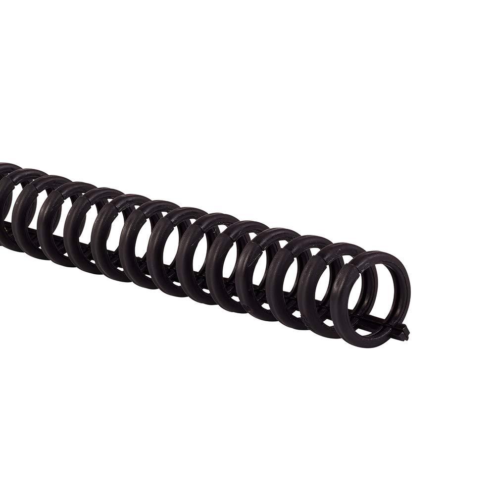 "B0006VQX5O Swingline GBC Binding Spines/Spirals/Coils, 5/16"" Diameter, 45 Sheet Capacity, ProClick, Black, 100 Pack (2514700) 51TgbRf4uYL"