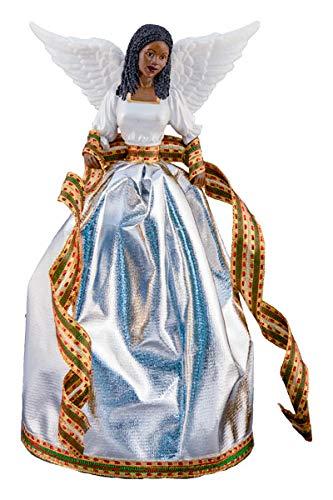 Treetopper: Tiffany in silver (Christmas Topper Angel Black)
