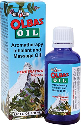 Ointment Aromatic (Olbas Aromatherapy Inhalant and Massage Oil,1.65 fl oz)