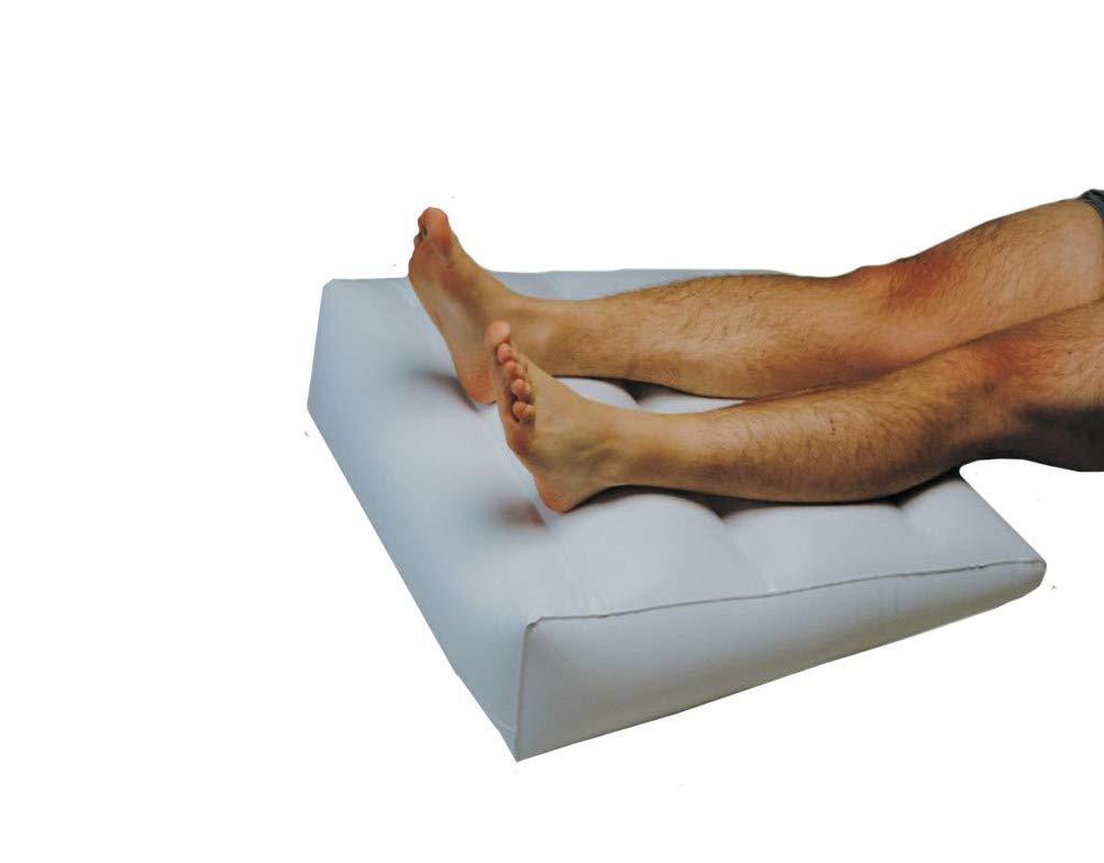 Patas de madera de y almohadilla hinchable para los pies es ...
