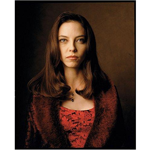 Vampira Ed Wood (Juliet Landau 8 inch by 10 inch PHOTOGRAPH Buffy the Vampire Slayer Ed Wood BioShock Burgandy Coat Over Red Shirt kn)