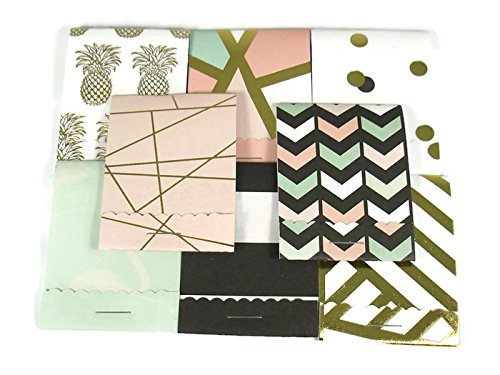(20 Matchbook Notepads Party Favors in Mint to Be Fab)