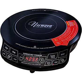 Amazon Com Nuwave 2 Precision Induction Cooktop With 9