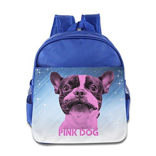 D2Fashion rosa perro Kids '–Mochila para 3–6Años de Edad Bebé royalblue