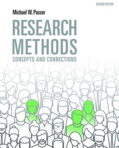 Research Methods: Concepts and Connections