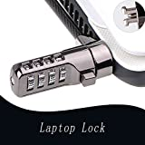 SUNMALL Laptop Keyless Number Combination Lock, Mini Anti Theft Wire Retractable Lock,Safety Lock with Locking Cable for Lenovo U41 U31 M41 S41 K41 Ideapad Flex3 series laptop(6 Months Warranty)
