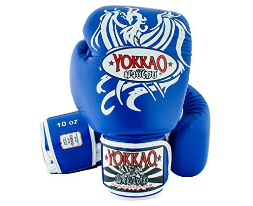 Yokkao Phoenix Boxing Gloves-Blue-16oz.