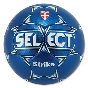 Select Sport America Strike Soccer Ball, Blue, Size 3