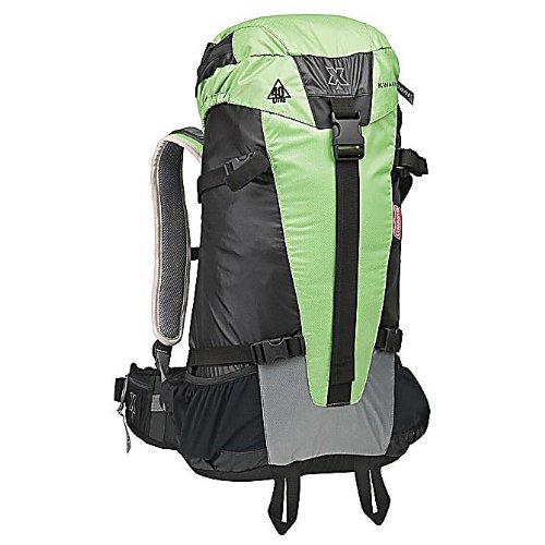 Coleman Exponent Kwanzan X40 Internal-Frame Pack,Green/Black, Outdoor Stuffs