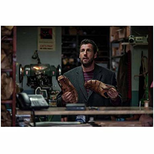 The Cobbler Adam Sandler as Max holding shoes 8 x 10 Inch Photo