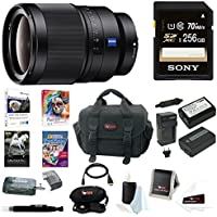 Sony SEL35F14Z Distagon T FE 35mm f/1.4 ZA Standard-Prime Lens Premium Bundle