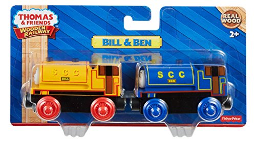 Fisher Price Thomas Amp Friends Wooden Railway Bill Amp Ben