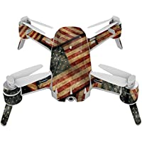 Skin For Yuneec Breeze 4K Drone – Vintage American | MightySkins Protective, Durable, and Unique Vinyl Decal wrap cover | Easy To Apply, Remove, and Change Styles | Made in the USA
