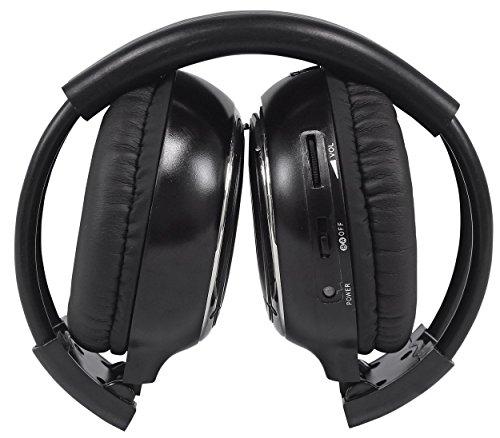 "Pair Rockville RHP7-BK 7"" Black TFT-LCD Car Headrest Monitors+2 Wireless Headset by Rockville (Image #7)"