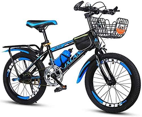 子供用20インチマウンテンバイク、7~15歳の子供と10代の子供用自転車サスペンションフォーク、ハードテール、ブルー、20インチ