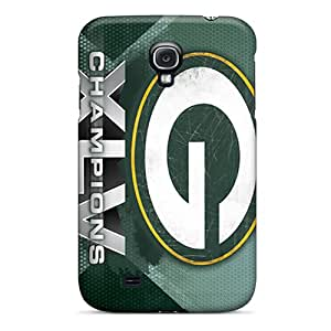 Special Sandrajh Skin Case Cover For Galaxy S4, Popular Green Bay Packers Phone Case