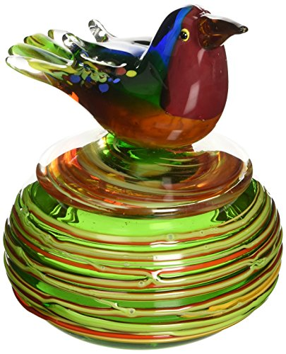 Dale Tiffany Hummingbird Favrile Jewelry Box