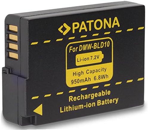 Bundlestar Qualitätsakku Für Panasonic Dmw Bld10 Mit Kamera