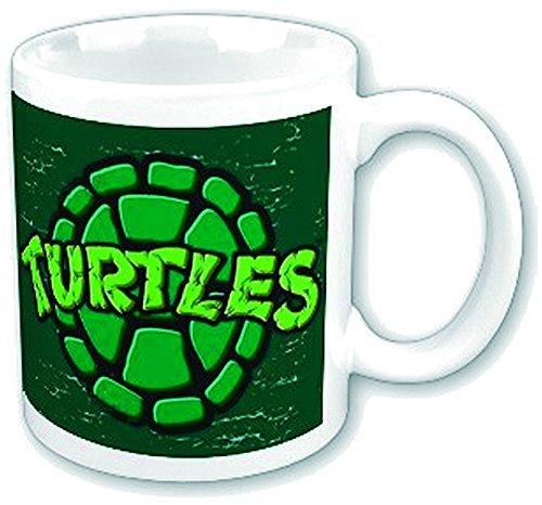 Caparazón de tortuga de las Tortugas Ninja taza retro Shield ...