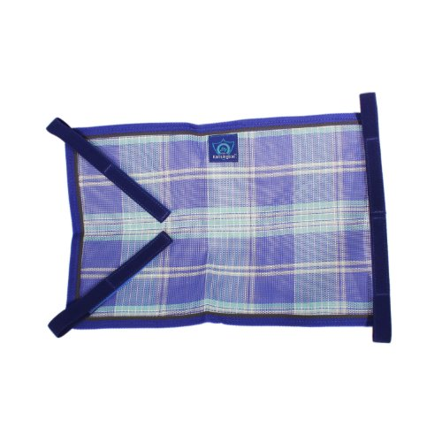 - Kensington Belly Band For Horse Under Belly - Protects Under Belly When Attached to Traditional Cut Protective Sheet - Offers Maximum Protection Year Round - Blue Ice Plaid