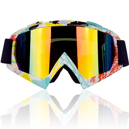 CarBoss-Motorcycle-Helmet-Motocross-Goggles-Dirt-Bike-Cycling-ATV-Racing-Safety-Sunglasses-for-Men-Women-Youth-Fitsover-Glasses-Ski-Snowboard-Goggles-100-UV-Protective-Outdoor-Tactical-Eyewear