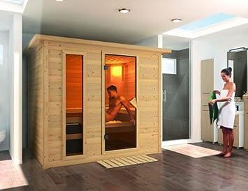 Karibu Holztechnik Gmbh Sauna Karibu Sonara 40 Mm Amazon De Garten