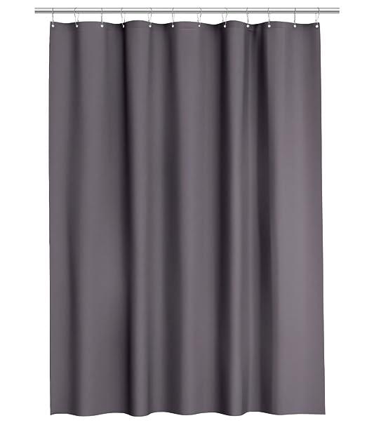 wasserabweisend stoff vorhang fr die dusche grau - Stoff Vorhang Dusche