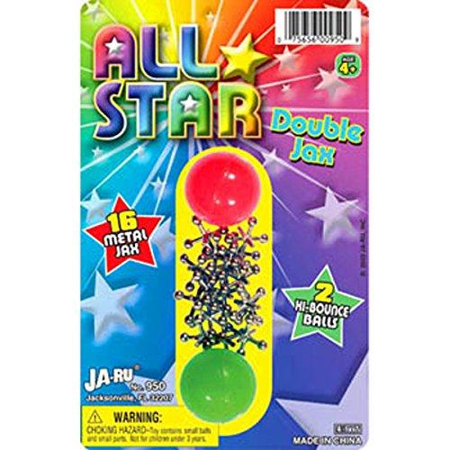 JaRu Jacks and Balls Classic Game Set ()
