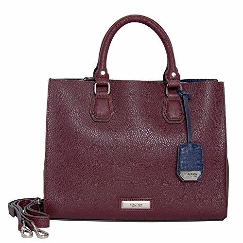 Kenneth Cole Reaction Margot Tote Handbag (Berry Jam)