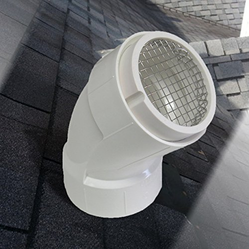Raven R1508 Pvc Termination Vent With 304 Stainless Steel
