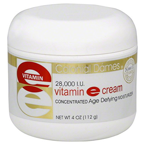 Colonial Dames Vitamin E Cream, 28,000 IU, 4 oz.
