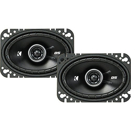 "Kicker 43DSC4604 4x6"" 2-way Speaker Pair"