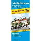 Niederbayern - Bäder-Dreieck - Östliches Oberbayern: Radwanderkarte mit Ausflugszielen, Einkehr- & Freizeittipps, wetterfest, reissfest, abwischbar, GPS-genau. 1:100000 (Radkarte / RK)